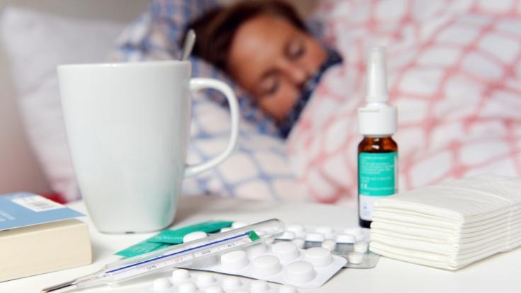 Influenza oder grippaler Infekt - Unterscheidung, Symptome, Ursachen