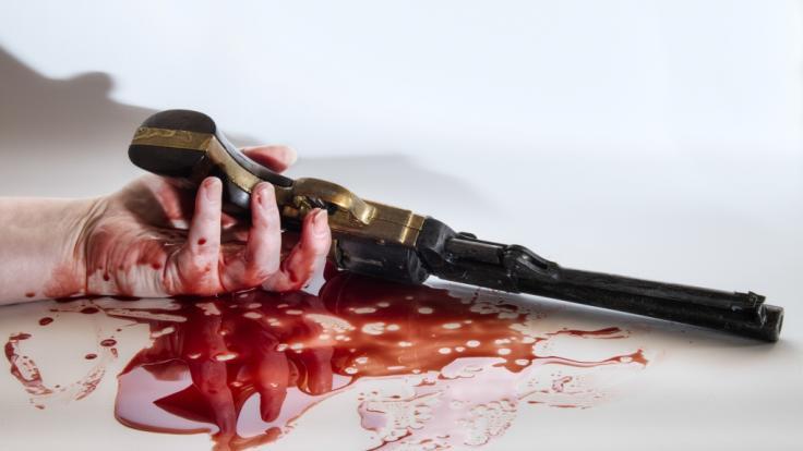 Ein Imbisswagenbesitzer erschoss erst seine Ex-Frau und dann sich selbst. (Symbolfoto)