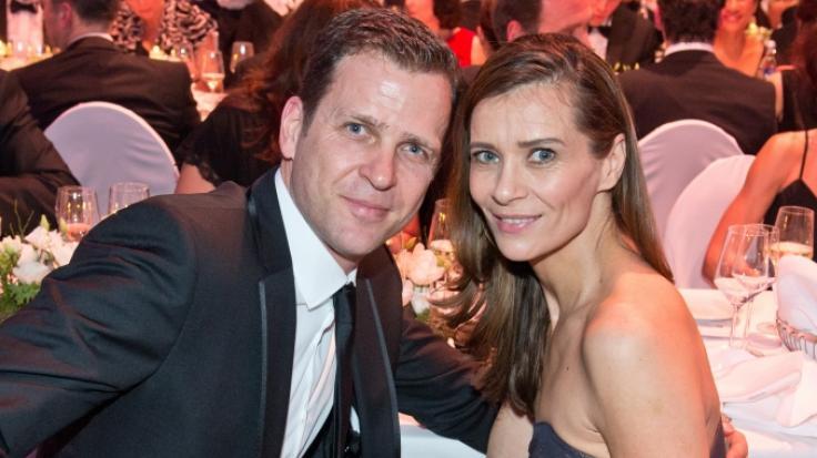 Oliver Bierhoff ist seit 2001 mit Klara Szalantzy verheiratet. (Foto)