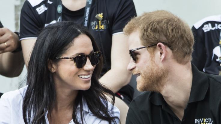 Meghan Markle und Prinz Harry zeigten sich erstmals öffentlich. (Foto)