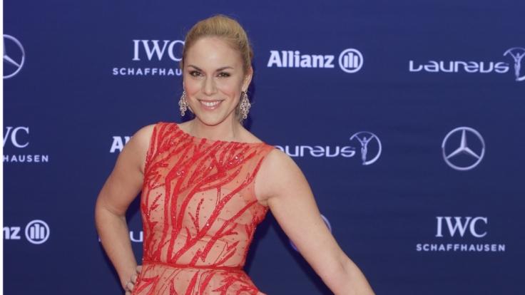 Moderatorin Kathi Wörndl bei der Verleihung der Laureus Sport Awards im Jahr 2016. (Foto)