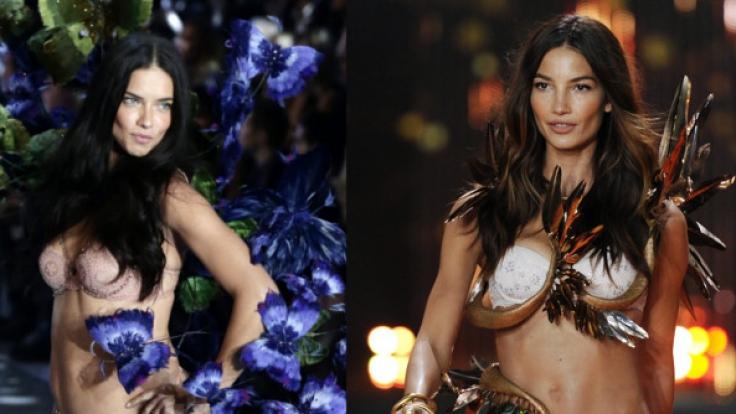 Adriana Lima (35) und Lily Aldridge (31) gehören zu den Hauptengeln von