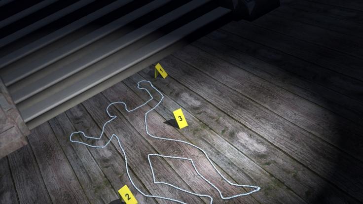 Die Spurensuche am Tatort im Magdeburger Stadtteil Alt Olvenstedt läuft auf Hochtouren. (Symbolbild) (Foto)
