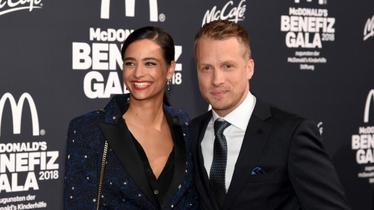 Amira Aly und Oliver Pocher. (Foto)