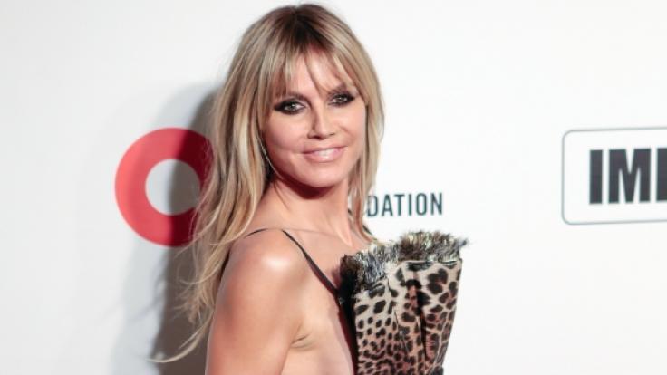 Heidi Klum zeigt sich komplett nackt im Netz. (Foto)
