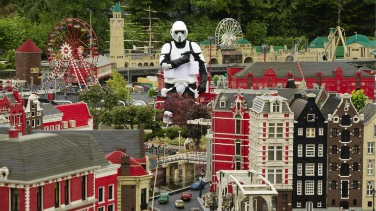 Star Wars im Legoland Deutschland (Foto)