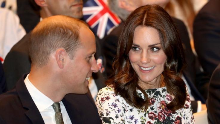 Endlich hat sich Herzogin Kate wieder öffentlich gezeigt. (Foto)