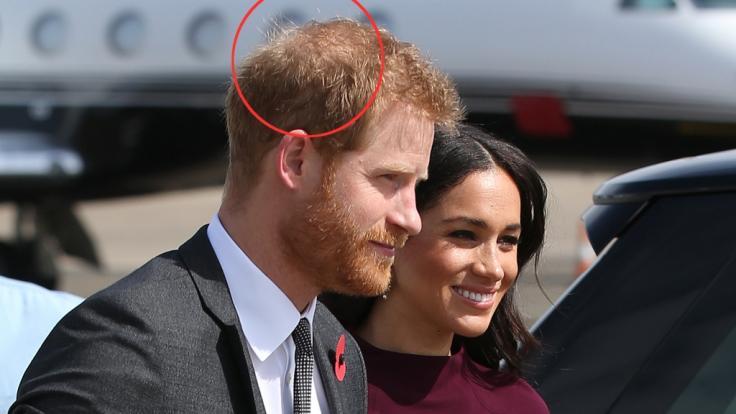 Während der gemeinsamen Pazifikreise hatte Prinz Harry noch deutlich mehr Haare. (Foto)