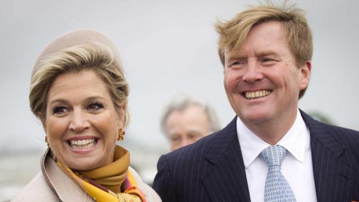 König Willem-Alexander (r.) und Königin Maxima. Foto: Evert-Jan Daniels