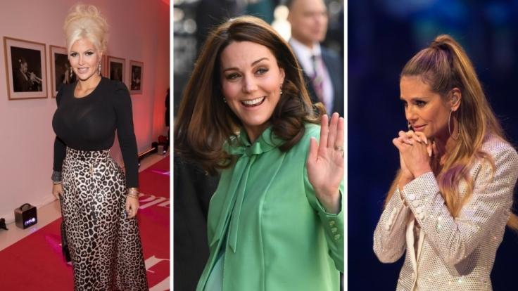 Stars wie Sophia Vegas Wollersheim, Kate Middleton und Heidi Klum fanden sich in dieser Woche in den Schlagzeilen wieder. (Foto)