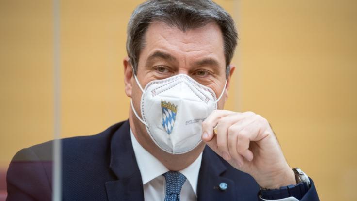Markus Söder will mit einer Spezialeinheit besonders gefährdete Bürger*innen schützen. (Foto)