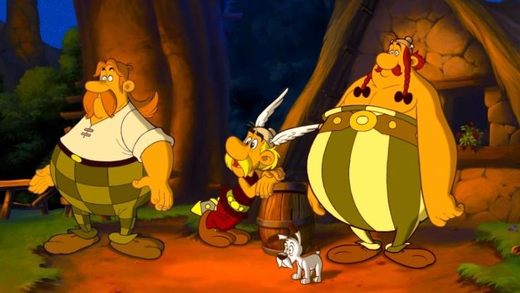 Asterix und Obelix werden 50, hier eine Szene aus einem der Zeichentrickfilme. (Foto)