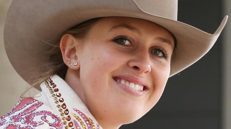 Gina-Maria Schumacher ist begeisterte Western-Reiterin.
