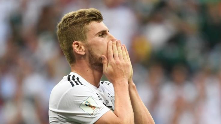 Timo Werner wirkt nach dem WM-Fehlstart sichtlich mitgenommen.