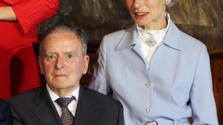 Die Eltern von Erbgroßherzogin Stéphanie von Luxemburg: Graf Philippe de Lannoy und Alix de Lannoy sind inzwischen beide verstorben. (Foto)
