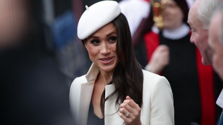 In wenigen Wochen wird Meghan Markle zur Ehefrau von Prinz Harry. (Foto)