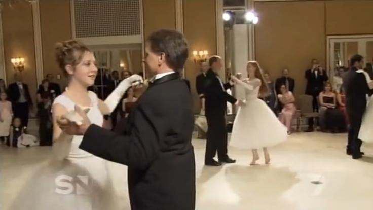 Der Purity Ball hat verstörende Ähnlichkeit mit einer Hochzeit.