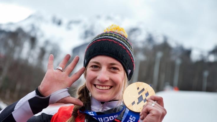 Anna Schaffelhuber geht für das deutsche Team bei den Paralympics 2018 auf Medaillen-Jagd.
