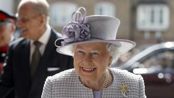Die Queen feiert am 21.4.2017 ihren 91. Geburtstag. (Foto)