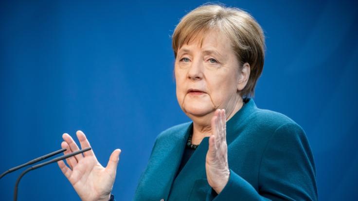 Angela Merkel über die Fortsetzung der Corona-Maßnahmen in Deutschland. (Foto)