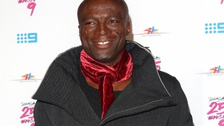 Hat allen Grund zur Freude: Seal ist glücklich vergeben und liebt das Leben in seiner neuen Patchwork-Familie mit sieben Kids.