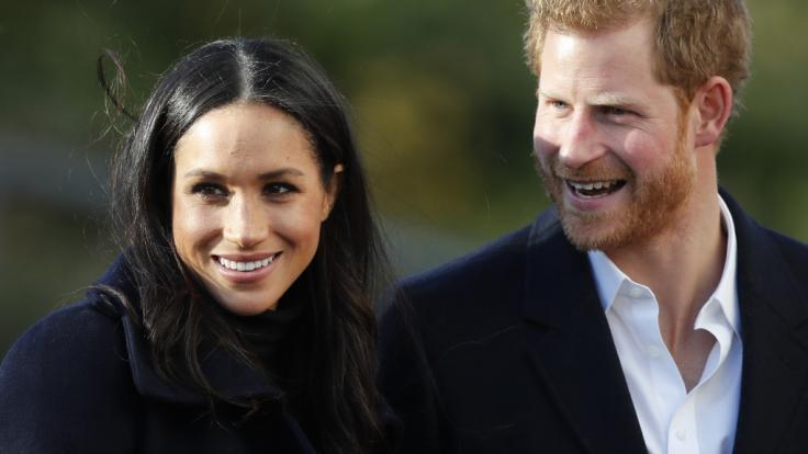 Meghan Markle und Prinz Harry wollen im Mai heiraten. (Foto)
