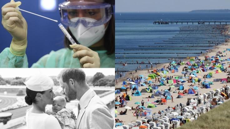 Die Nachrichten des Tages auf news.de: Massenansturm auf Deutschlands Küsten am Hitze-Wochenende, mehr als 1.000 Corona-Neuinfektionen, Sorge um Mini-Royal Archie. (Foto)