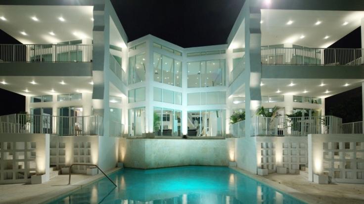 In dieser Luxus-Villa in Miami/Florida kämpfen 22 Kandidatinnen um ihren Bachelor. (Foto)