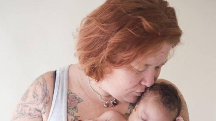 Für ihre Tochter Abigail änderte Christina Fisher ihr Leben. (Foto)