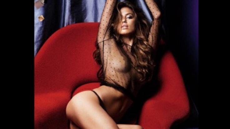 Sexy Posen sind Irina Shayks tägliches Geschäft. (Foto)