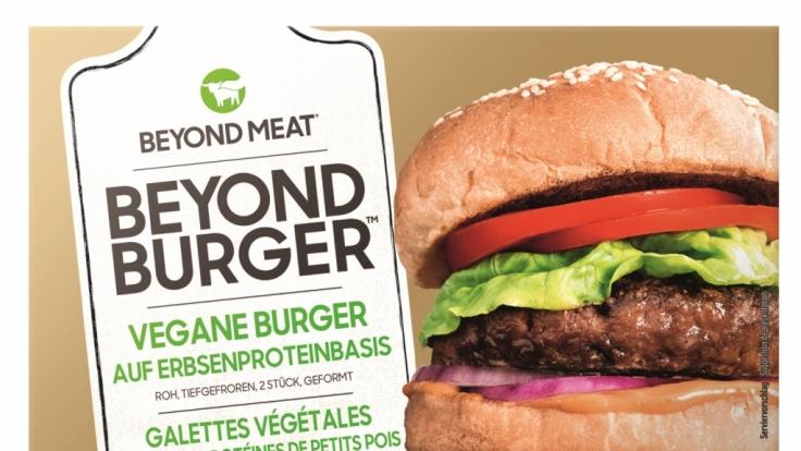 Lidl verkauft vegane Burger