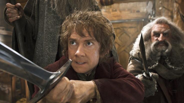 Freemans in seiner wohl bislang größten Rolle als Bilbo Beutlin in