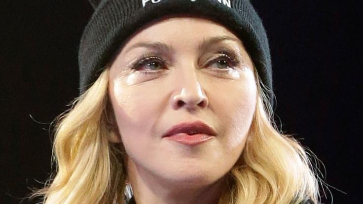 Madonna schockt die Fans mit ihrem neuen Look. (Foto)