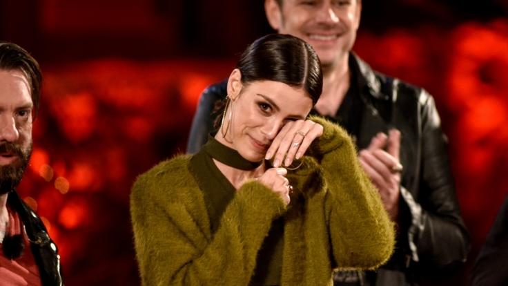 "Bei ""Sing meinenSong"" 201 ist LenaMeyer-Landrut zu Tränen gerührt. (Foto)"