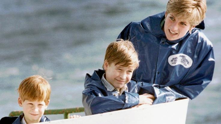 Prinzessin Diana genoss jeden Augenblick mit ihren Söhnen William und Harry - die Baby-Tragödie in ihrer Familie konnte Lady Di so vergessen.