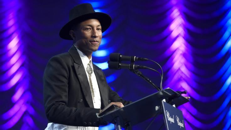 Sänger Pharrell Williams trauert um seinen Cousin. (Foto)