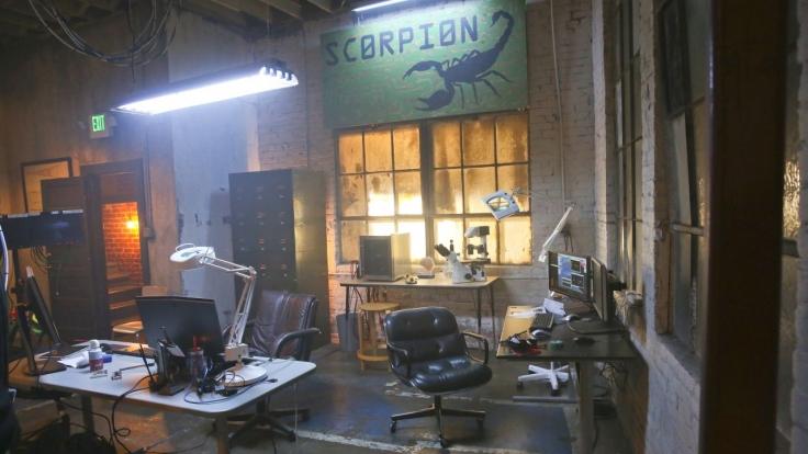 Scorpion bei kabel eins (Foto)