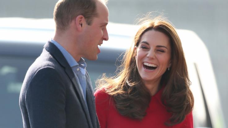 Seit fast 8 Jahren glücklich verheiratet: Prinz William und Herzogin Kate. (Foto)