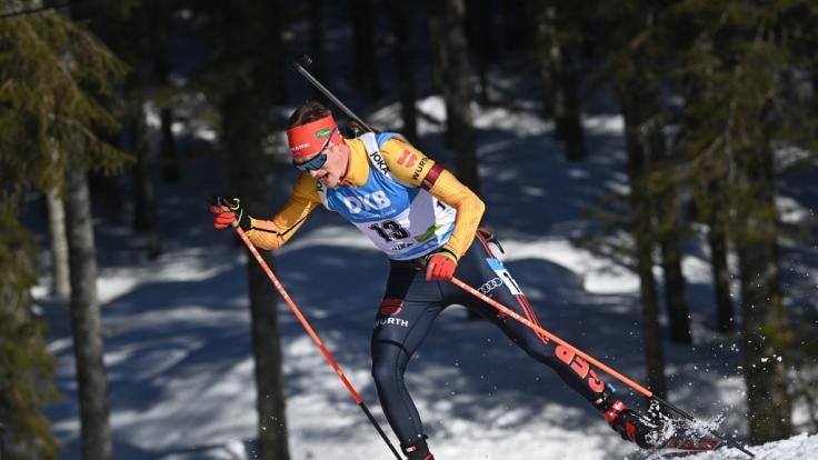 Vom 19. bis 21. März messen sich die Herren beim Biathlon-Weltcup in Östersund. (Foto)