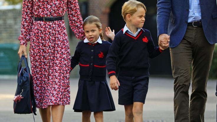 Prinzessin Charlotte als Schulkind: Die Tochter von Kate Middleton und Prinz William hat ihren ersten Schultag an der Schule Thomas's Battersea.