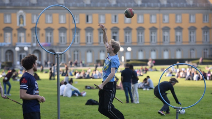 Beim IQA Quidditch World Cup werden 23 Länder gegeneinander antreten. Ob die USA wieder den Titel holen? (Foto)