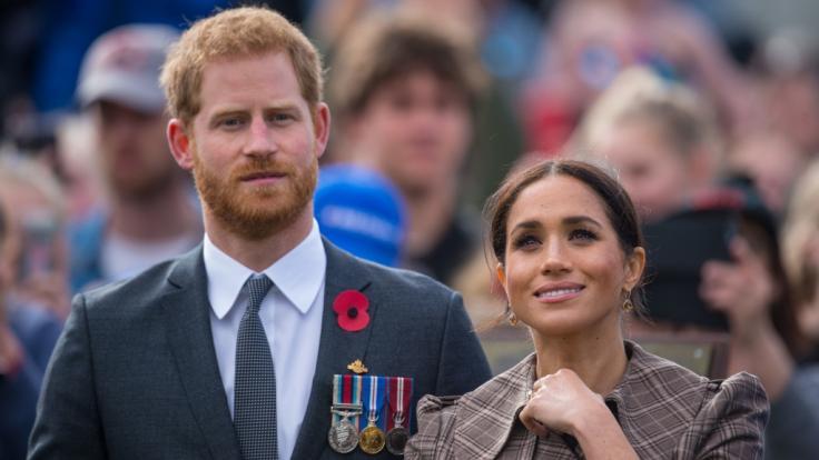 Prinz Harry und Meghan Markle erwarten ihr erstes Baby. (Foto)