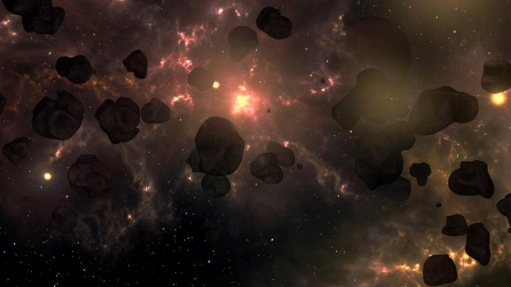 Beinahe täglich fliegen Asteroiden sehr nah an der Erde vorbei. (Foto)