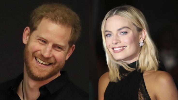 Was läuft da zwischen Prinz Harry und Margot Robbie?