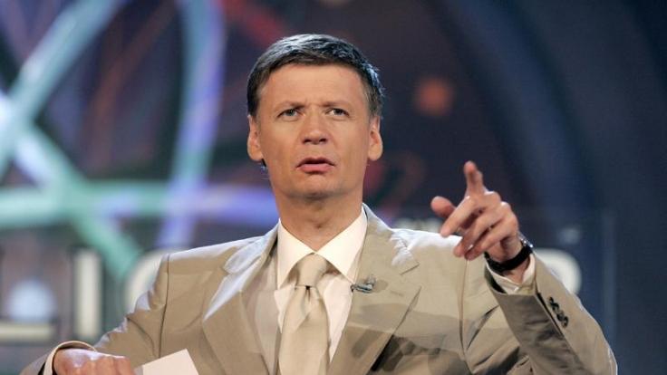 Günther Jauch moderiert das RTL-Quiz Wer wird Millionär? seit 1999. (Foto)