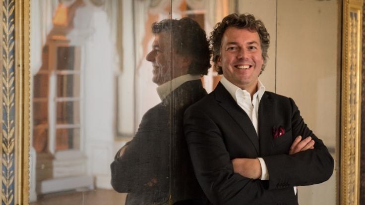 Peter Maria Schnurr ist seit Februar 2005 Küchenchef des Restaurants Falco in Leipziger Westin-Hotel. (Foto)