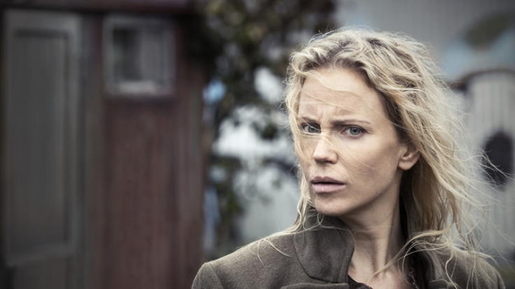 Polizistin Saga Norén gespielt von Sofia Helin, ermittelt wieder in einer grausamen Mordserie. (Foto)