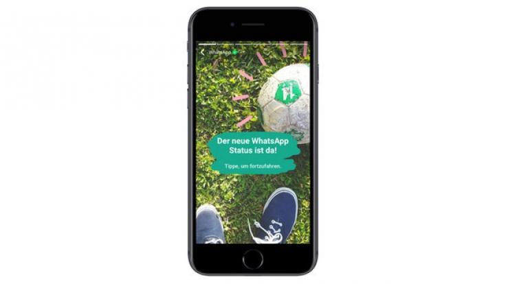 Mit der neuesten Funktion attackiert WhatsApp Snapchat.