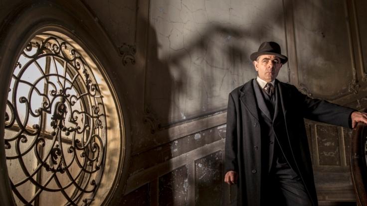 Kommissar Maigret (Rowan Atkinson) bekommt es mit einem besonders mysteriösen Mordfall zu tun. (Foto)