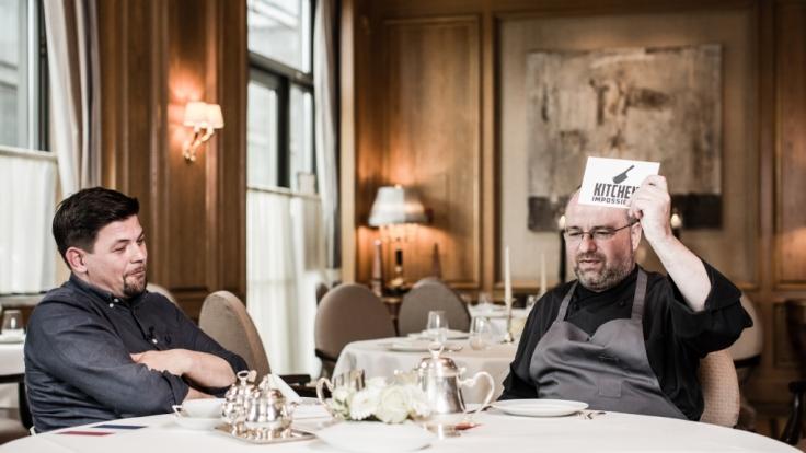 Wer stellt die kniffligeren Aufgaben - Tim Mälzer und Christian Lohse? (Foto)